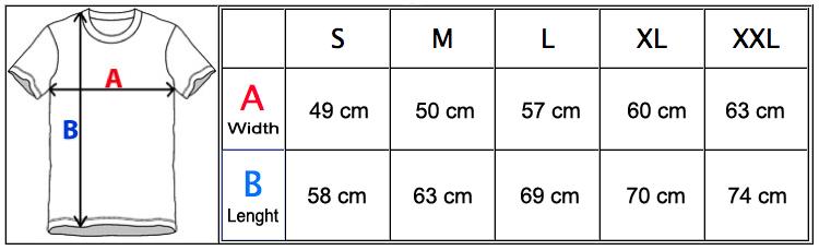 MeasurementChartJ116