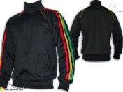 Rasta Jacket Reggae 3 stripes Black